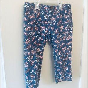 Capri length Jeans